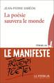 """La poésie sauvera le monde NED"" de Jean-Pierre Siméon"